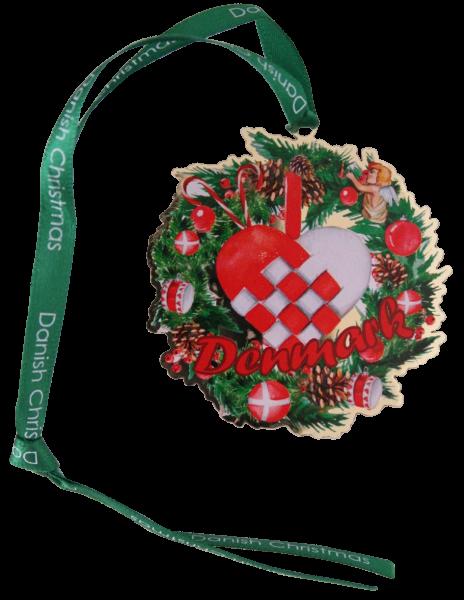 """Weihnachtsornament """"Julehjerte"""""""