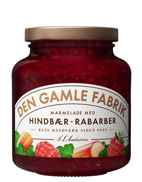 Den Gamle Fabrik Marmelade Himbeere & Rhabarber
