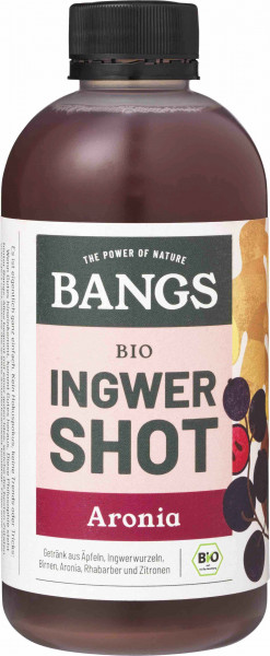 Bangs Bio Ingwer-Shot mit Aronia 300ml