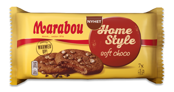 Marabou Home Style Cookies Soft Choco
