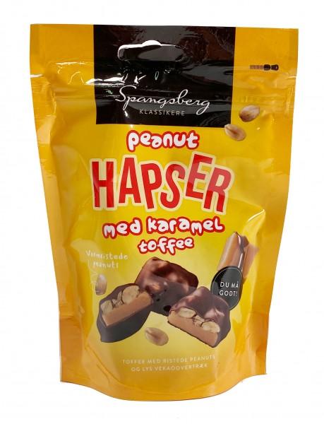 Spangsberg Peanut Hapser med Karamel Toffee