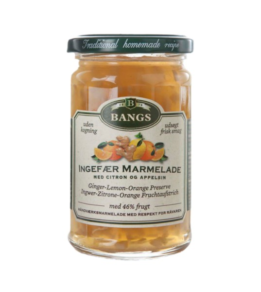 Bangs Marmelade Ingwer Zitrone Orange