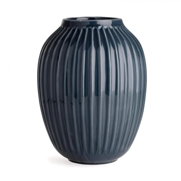 Kähler Design Hammershøi Vase anthrazitgrau 25 cm