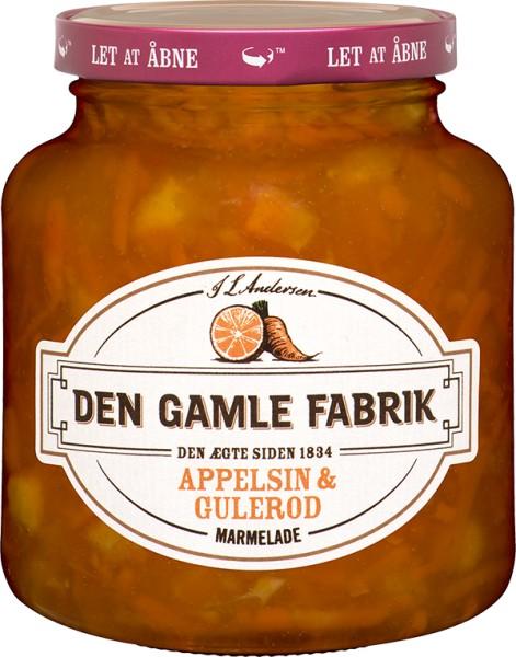 Den Gamle Fabrik Marmelade Orange-Karotte 380g