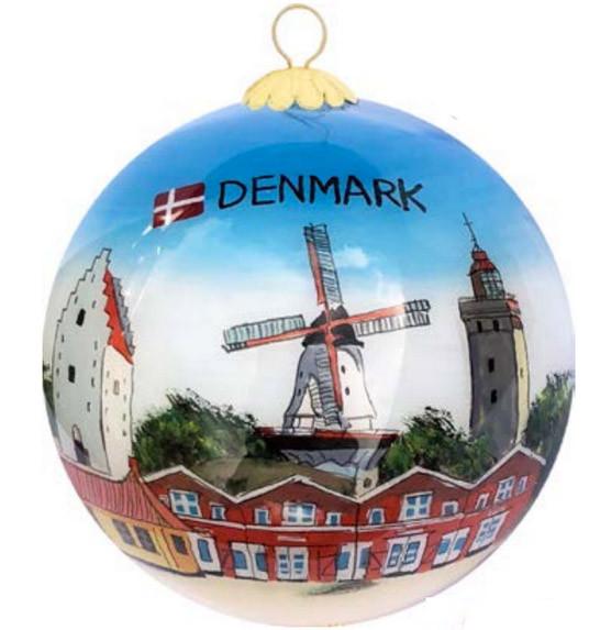 "Memories of Denmark Weihnachtsbaumkugel ""Landschaften"""