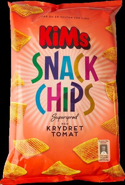 KiMs Snack Chips Krydret Tomat