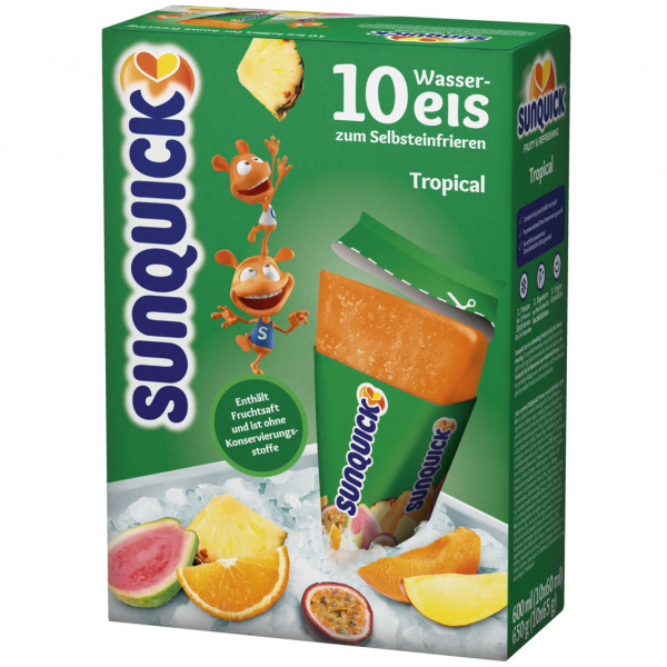 Sun Lolly - Sunquick Wassereis Exotisch