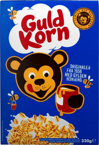 Guldkorn Puffweizen mit Honig