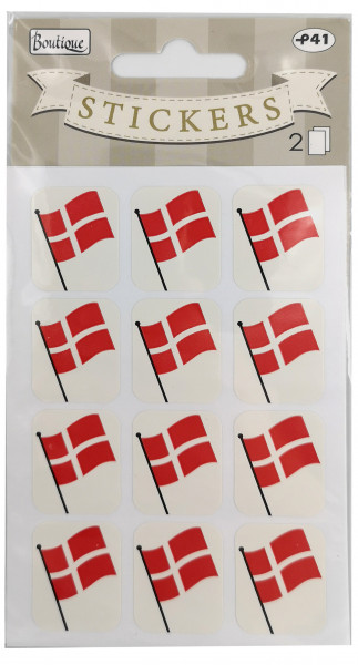 "Sticker-Set ""Flaggenpin"""