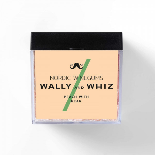 Wally and Whiz Peach with Pear