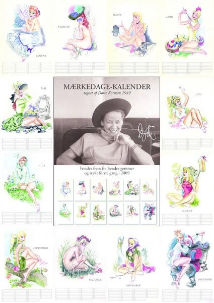 Dorte Kortzau Jubiläums-Kalender