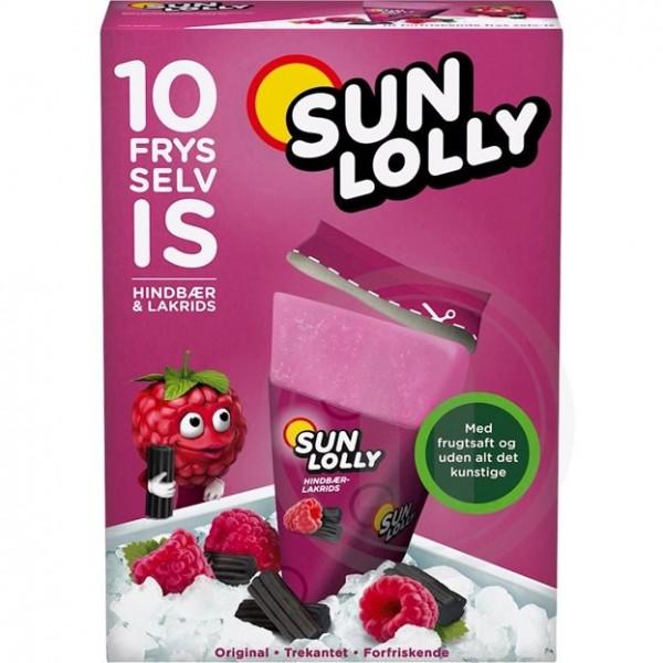 Sun Lolly - Sunquick Wassereis Himbeer & Lakritz