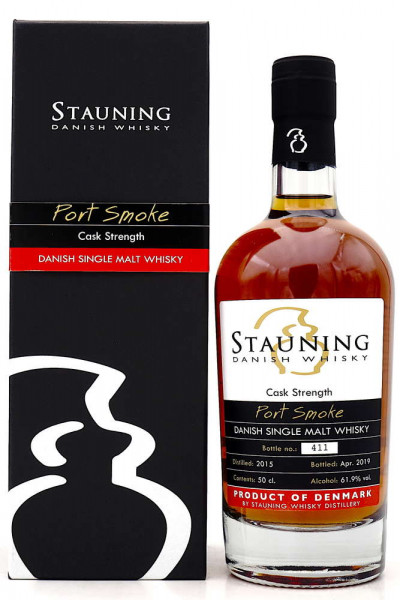 Stauning Port Smoke Cask Strength Whisky