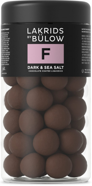 Lakrids by Bülow F - Dark & Sea Salt groß