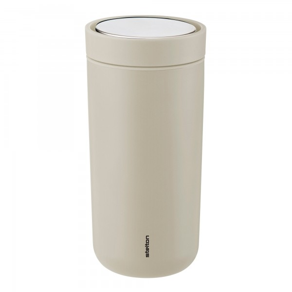 Stelton To Go Click 0,4l Thermobecher soft sand