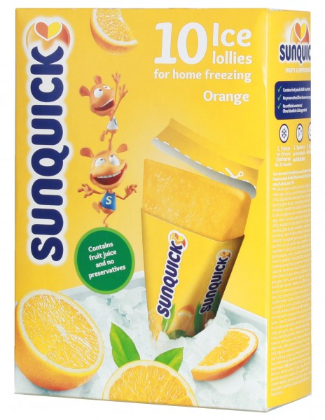 Sun Lolly - Sunquick Wassereis Orange