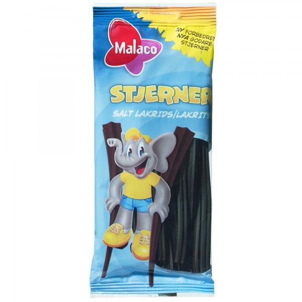 Malaco Stjerner Salt Lakrids