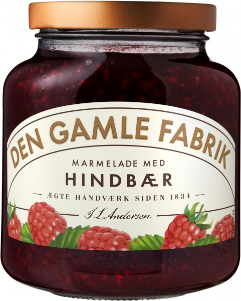 Den Gamle Fabrik Marmelade Himbeere