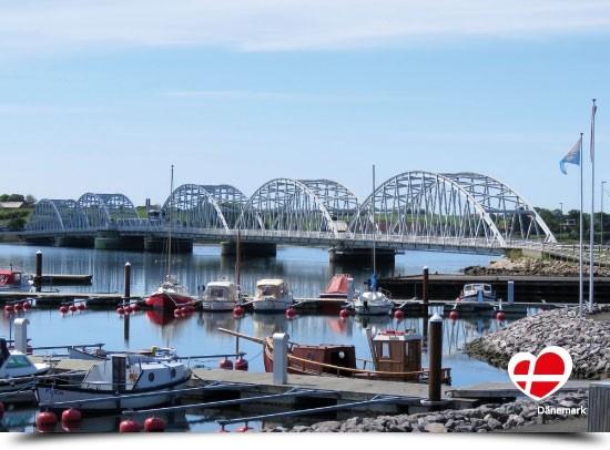 "Postkarte ""Vildsundbroen, Mors"""