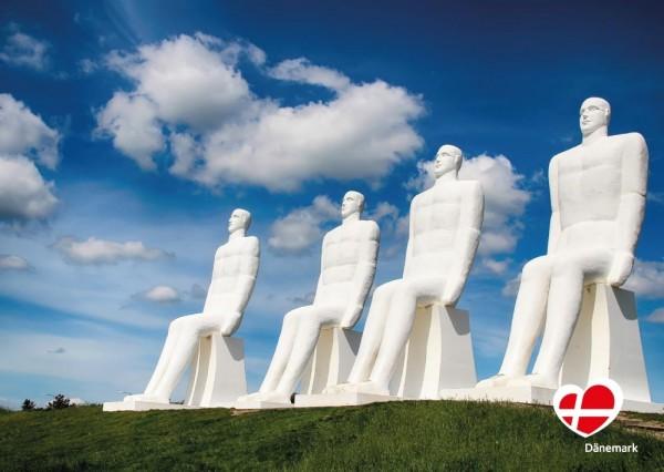 "Postkarte ""Skulptur in Esbjerg"""