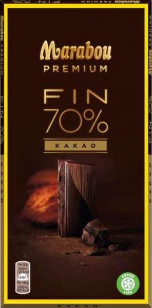 Marabou Premium Fin 70% Kakao