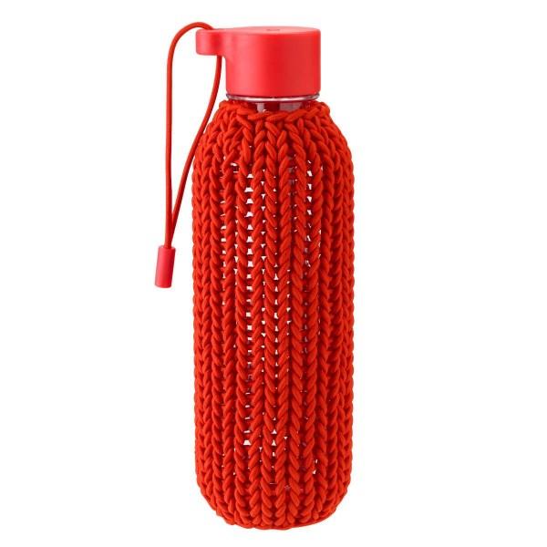 Stelton CATCH-IT Trinkflasche rot