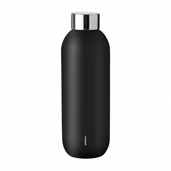Stelton Keep Cool Thermoflasche black