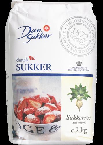 DanSukker Dänischer Zucker 2KG